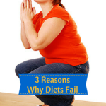 3 Reasons Why Diets Fail