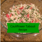 [Recipe] Cauliflower Tabouli