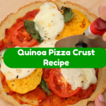 [Recipe] Quinoa Pizza Crust