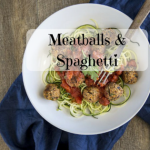 Vegan Meatballs with Zoodles